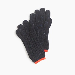 Kids' Donegal wool gloves