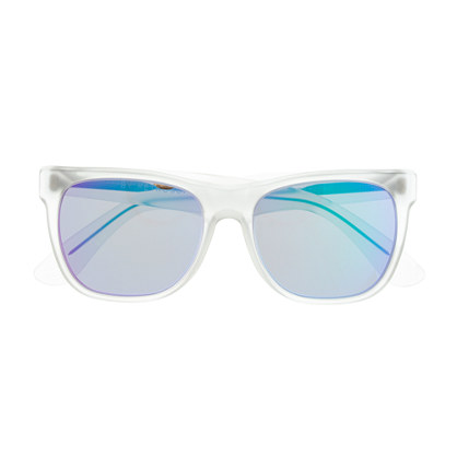 Super™ basic crystal flash sunglasses