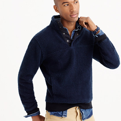 Grizzly fleece pullover jacket : t-shirts, polos & fleece | J.Crew