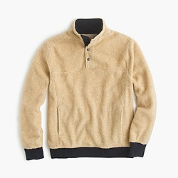Grizzly fleece pullover jacket