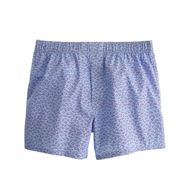 Sketchy heart boxers