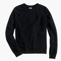 Solid sweatshirt in black