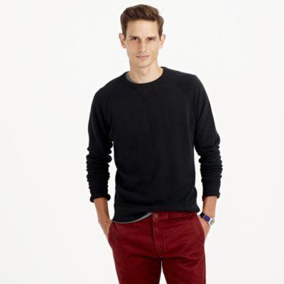 Solid sweatshirt in black