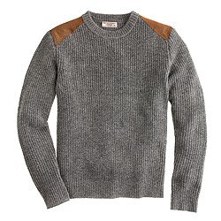 Wallace & Barnes shoulder-patch sweater