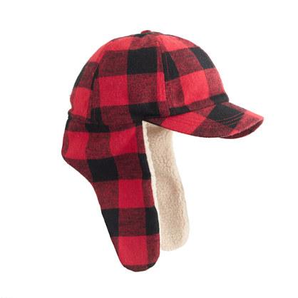 Trapper Hat j Crew Kids' Trapper Hat in Buffalo