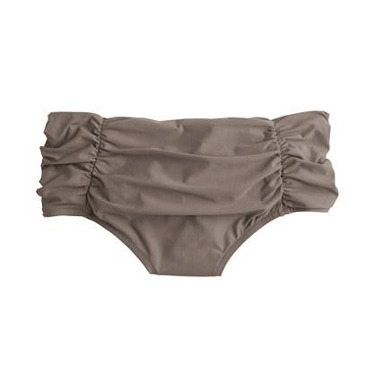 High-waisted bikini brief