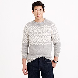 Industry of All Nations™ hand-knit alpaca sweater