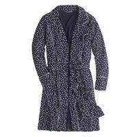 Whisper jersey robe in heart