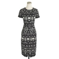 Blurred ikat dress