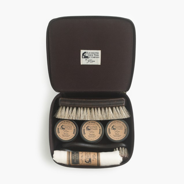 Rochester Shoe Tree Company® for J.Crew leather shoe care kit