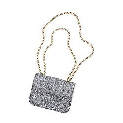 Girls' glitter crossbody bag