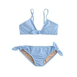 Girls' bow bikini set