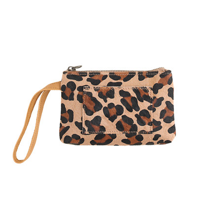Girls' calf hair pochette