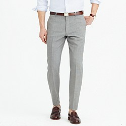 Crosby Traveler suit pant in Italian wool
