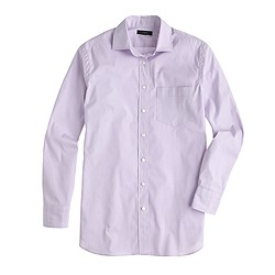 Petite end-on-end long shirt