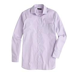 Petite end-on-end long shirt