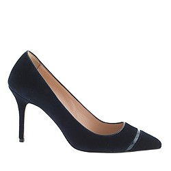 Elsie velvet pumps