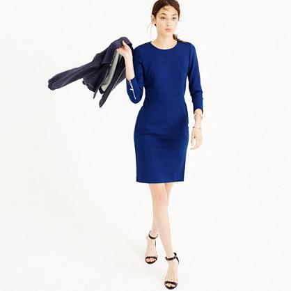 71f1585d4e Structured knit zip dress