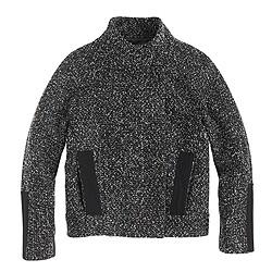 Marled bouclé jacket