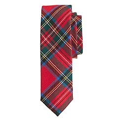 Scottish wool tie in Royal Stewart tartan