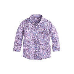 Baby Liberty shirt in lagos laurel floral