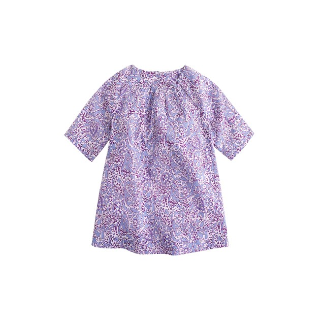 Baby Liberty dress in lagos laurel floral
