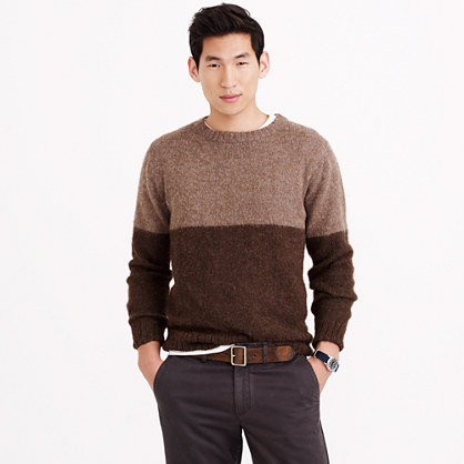 Industry of All Nations™ colorblock alpaca sweater