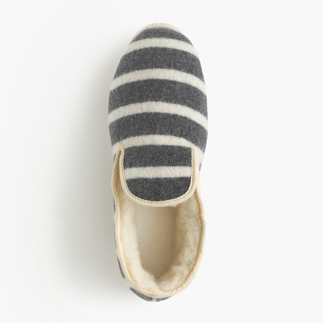 Armor lux french wool slippers j crew for J crew bedroom slippers
