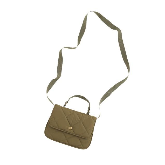 Girls' puffer Edie bag