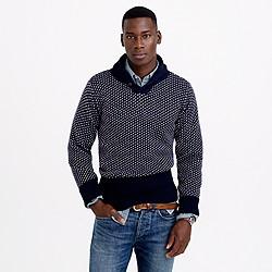 North Sea Clothing victory shawl-collar sweater