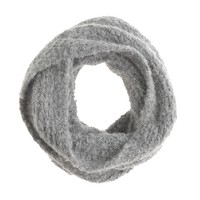 Kids' fluffy wool snood