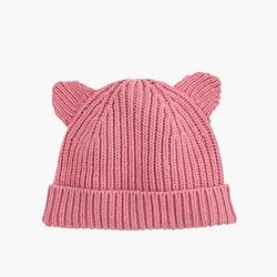 Kids' kitten hat
