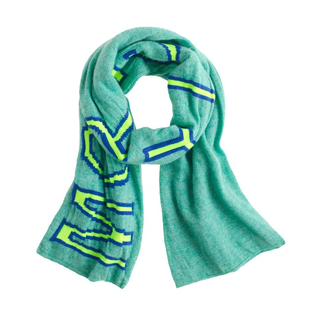 Kids' monster scarf