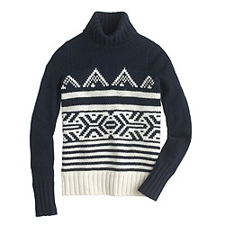 Alpine turtleneck sweater