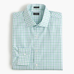 Crosby shirt in green tattersall