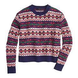 Lambswool classic Fair Isle sweater