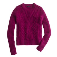 Collection cashmere cable sweater