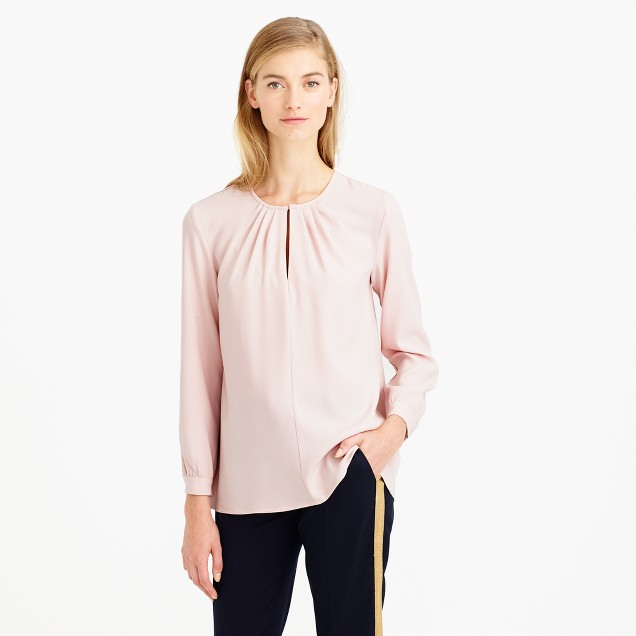 Collection satin top