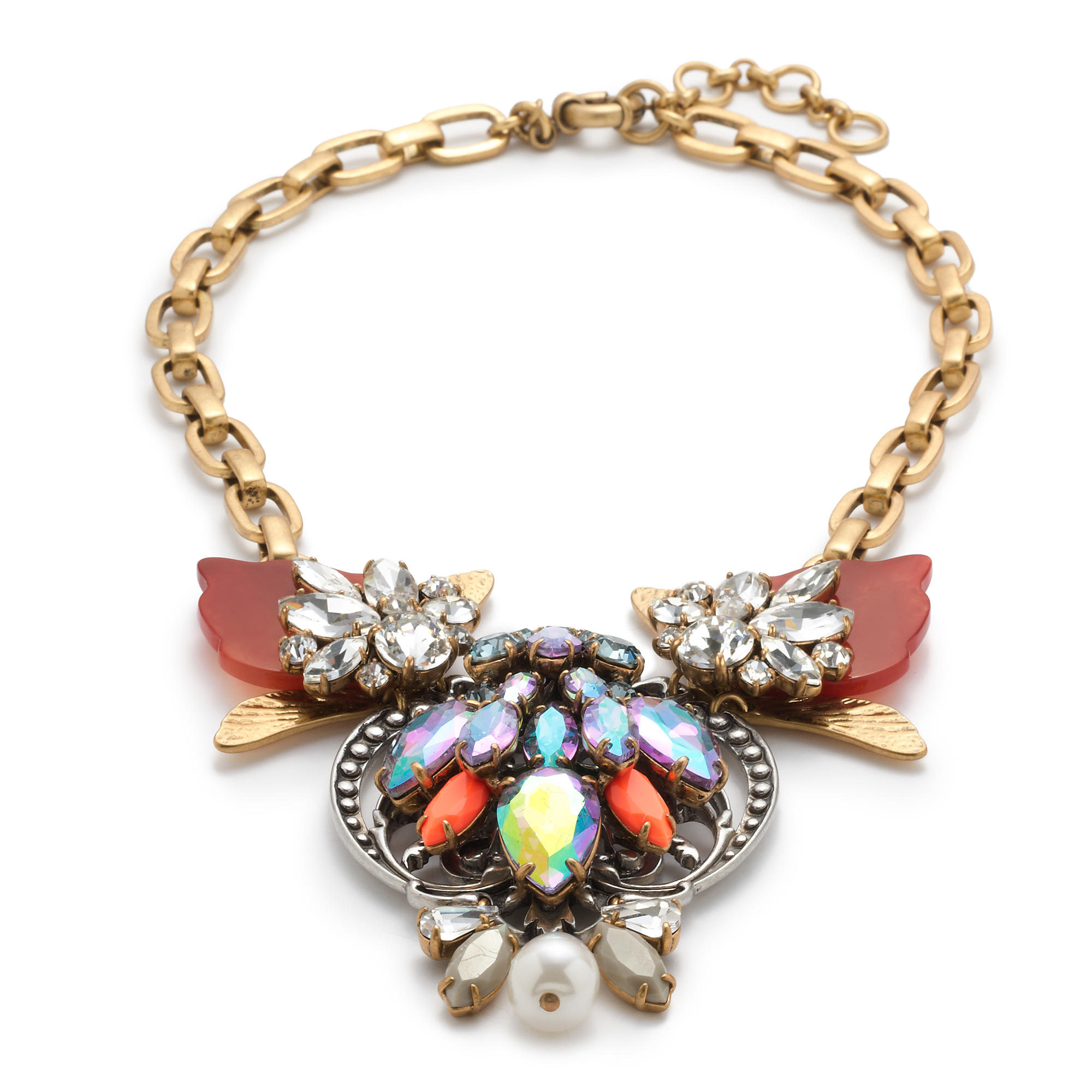 Estate jewel necklace j crew for J crew jewelry 2015