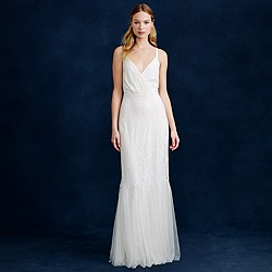 Harper beaded mermaid gown