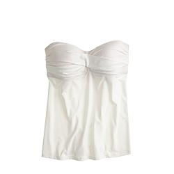 Twist-front swing tankini top