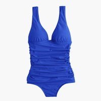 D-cup ruched femme one-piece swimsuit