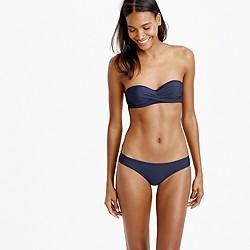 DD-cup twist-bandeau underwire bikini top