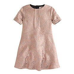 Girls' Maan™ pink lamé dress