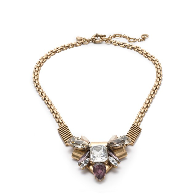 Origami cluster necklace