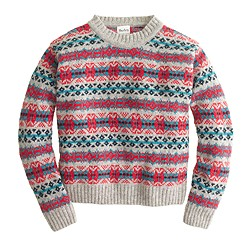 Harley of Scotland™ Fair Isle sweater