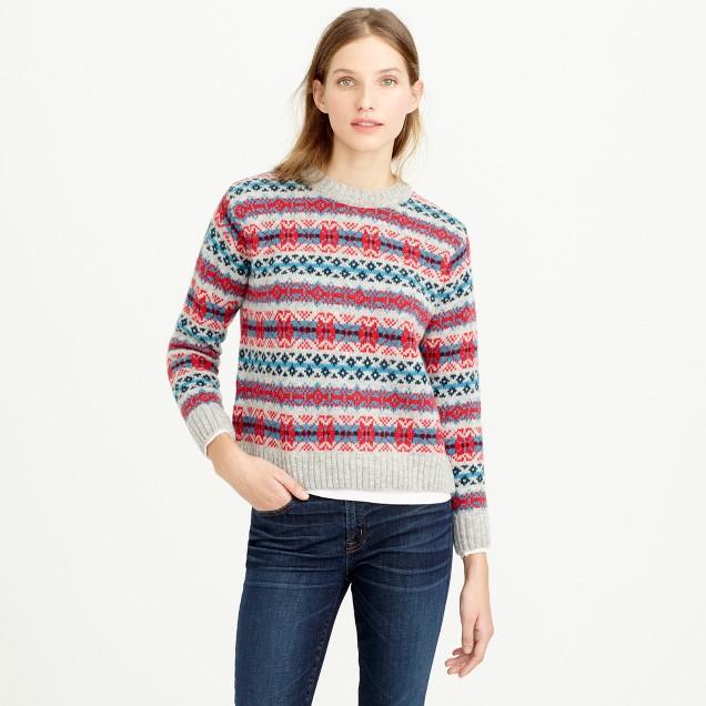 Harley of Scotland™ Fair Isle sweater