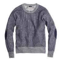 Collection cashmere herringbone sweater