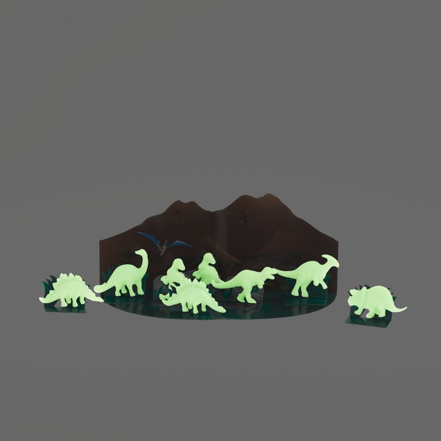 Kids' Toysmith™ 3-D glow-in-the-dark dinosaurs