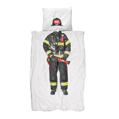Kids' Snurk™ firefighter bedding